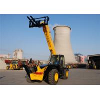 Quality 3500kg Automatic All Terrain Telescopic Forklift Machine 13700 mm Height for sale