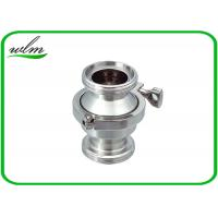 Quality High Performance Sanitary Check Valve , Stainless Check Valve DN25-DN100 for sale
