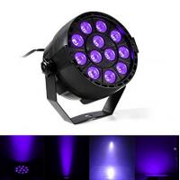 Quality IP33 Voice-control Violet Led Disco Lights with Black + Transparent Cover for sale