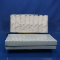 China In Tray Soft Disposable White Terry Towel on sale