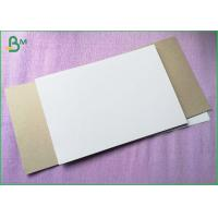 Quality Box Package Material Coated Duplex Paper Grey Color And White Color , 250gsm 300gsm for sale