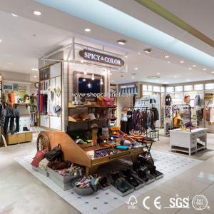 Quality Fashion convenient clothes display shelf for sale