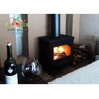 Quality APOLLO Thickened Cast Iron Wood Burning Fireplace Insert , Chimney Diameter 200mm for sale