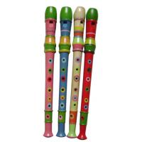 Quality Colorful Toy Musical Instruments Orff 8 Hole Wood Flute for sale