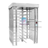 Buy Full Height Turnstile 304 Stainless Steel Single Channel Bi-directional Open at wholesale prices