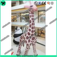 Quality 6m High Inflatable Giraffe,Inflatable Giraffe Cartoon, Giraffe Animal Inflatable for sale