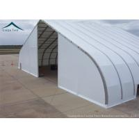 Quality Fabric Covered Buildings Durable Aircraft Hangar With Heavy Duty Materials for sale