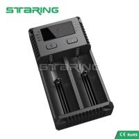 Quality 2017 Original New Nitecore Intellicharger I2 1A Dual USB Charger 18650 Li-ion Battery Charger for sale