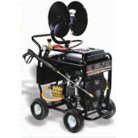 Quality Portable Commercial Pressure Washers 5000 PSI 350BAR 24HP SAE30 Pump Oil Type for sale
