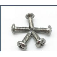 Quality High Standard SS Phillips Pan Head Machine Screw M3-M30 Bright Surface Treatment for sale
