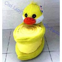 Quality Baby Polar Fleece Blankets-Lovely Duckling for sale