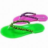 Buy cheap Women's Slippers with PVC Outsole and Upper from wholesalers