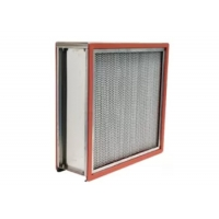 Quality High Temperature 304SS HEPA Air Filter For Food / Medical Factory for sale
