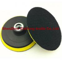 Durable self-glued buffing pad hook for sanding disc