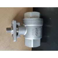 Quality 2 Piece Type Threaded Stainless Steel Ball Valve Manual / CF8M 1.4408 RPTFE 1000WOG BSPP for sale