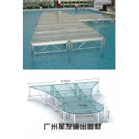 Quality Aluminum acrylic Stage , Catwalk Adjustable Alumimum Stagefor Fashion Show for sale