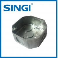 Buy Exterior outlet Metal Electrical Junction Boxes Pre - galvanized steel at wholesale prices