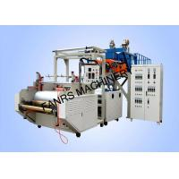 Quality 1500mm Cling Stretch Film Mother Roll Extruder Machine With Automatic Cutting And Rewinding for sale