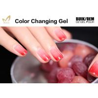 Quality Chemical Free Heat Activated Color Changing Nail Polish With 72 Color Options for sale