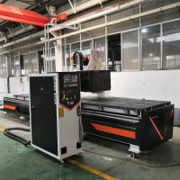 China CNC 3d Wood Carving Machine , Digital Carving Machine With Automatic Loading System on sale