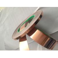 Quality chinese factory 0.15mm * 600mm Copper conductive Foil Tape for Power Transformer for sale