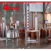 Quality 200L red copper industrial alcohol distillation equipment / machine for sale