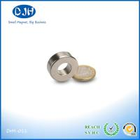 Quality Powerful N35 Neodymium Ring Shaped Magnets For Speaker / Machine / Electronic for sale