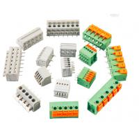 China PCB Screw terminal block RD250-3.5 7.0 1P-XXP 400V 5A spring terminal connector on sale