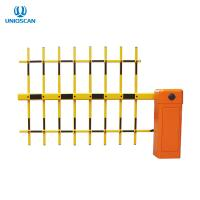 High Speed Pedestrian Access Gate , Turnstile Barrier Gate Car Parking Boom Type