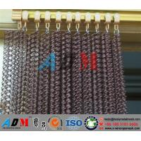 chain link fabric curtain