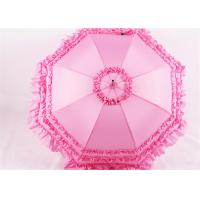 Quality Straight Wedding umbrellas for bridesmaids cosplay lace Princess for sale