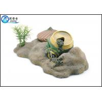 Buy Air Operated Pop-top Fish Aquarium Ornaments Poly Resin With Mussel at wholesale prices