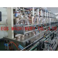 Quality 4000BPH 1L PET Bottle Oil Filling Machine 3 Phase 380V with Frequency Converter for sale