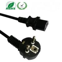Quality European Schuko plug to C13 power cord, VDE approved cordset with CEE7/7 plug for sale