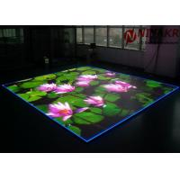 China P3.91 Programmable LED Floor Display Seamless Stitching For Disco Club DJ Events on sale
