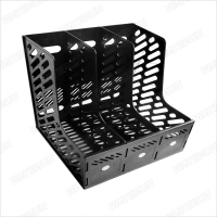 Quality Plastic Cleanroom 10E9 Ohm Antistatic Document Basket for sale