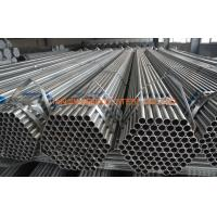 Quality Q235 Q345 Greenhouse Pre Galvanized Steel Tubing , ERW Steel Structure Pipe for sale