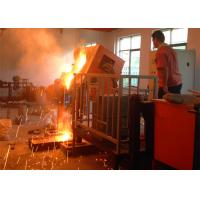 China High Temperature Middle Frequency Electrical Vacuum Induction Smelting Furnace on sale
