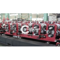 China C Z Channel Shaped Steel Roof Purlin Roll Forming Machine on sale