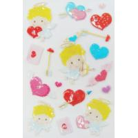 China Interesting Valentine Kawaii 3d Stickers , Love Heart Stickers For Promotional on sale