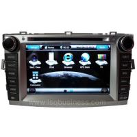 Buy 8 Inch Digital LED Dual Zone Toyota DVD Navigation System For Toyota Verso 2012 at wholesale prices