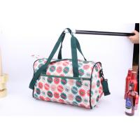 Quality OEM High Quality Beautiful flower printing cheap luggage for travel or sports for sale