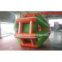 Quality Commercial Inflatable Bouncers , Large Inflatable Ball For Kids 0.55mm PVC RQL-00606 for sale