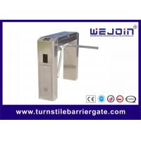 China Automated Pedestrian Turnstile Barrier Gate for Access Authority Management on sale