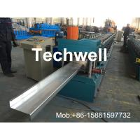 Quality Hydraulic Plate Rolling 4KW Main Power Z Purlin Roll Forming Machine for sale