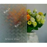 Quality 3mm to 8mm Wanji Patterned Glass, Rolled Glass, Figured Glass with Certificate ISO and BV for sale
