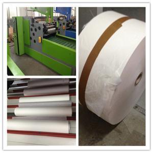 Quality Japan Motor automatic Paper Rewinding Machine  , 0.5 Mpa Siemens PLC for sale