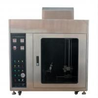 Quality UL94 Horizontal / Vertical Flammability Tester for Plastic Materials for sale
