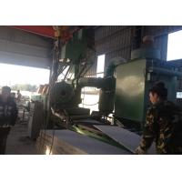 Quality Marble Roller Conveyor Shot Blasting Machine Cleaning Customized Color for sale