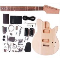 Buy Cutaway Bolt On Neck DIY Electric Guitar Kits / Unfinished Guitar Set AG-DV1 at wholesale prices